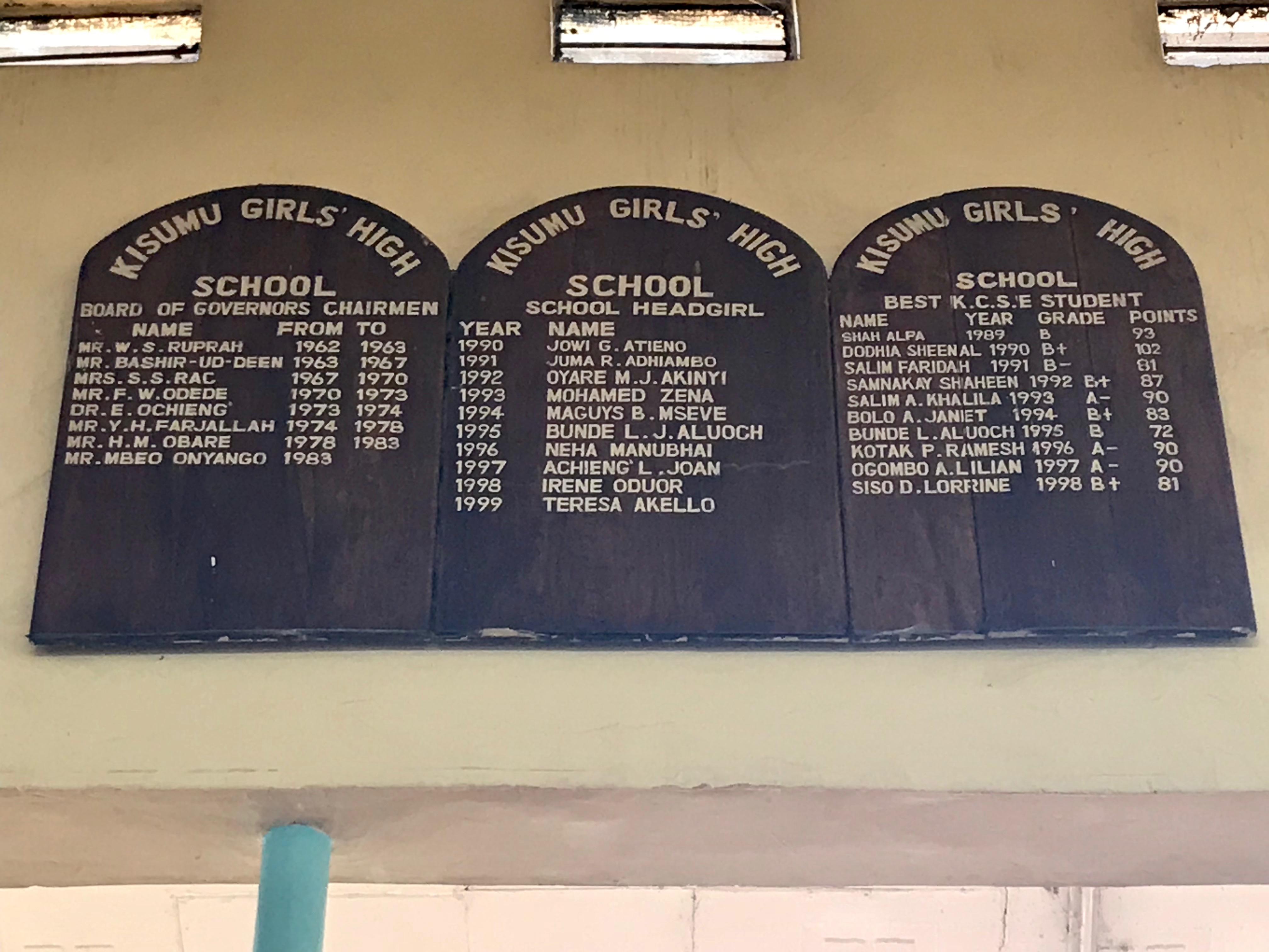 Kisumu Girls High School – Macleki